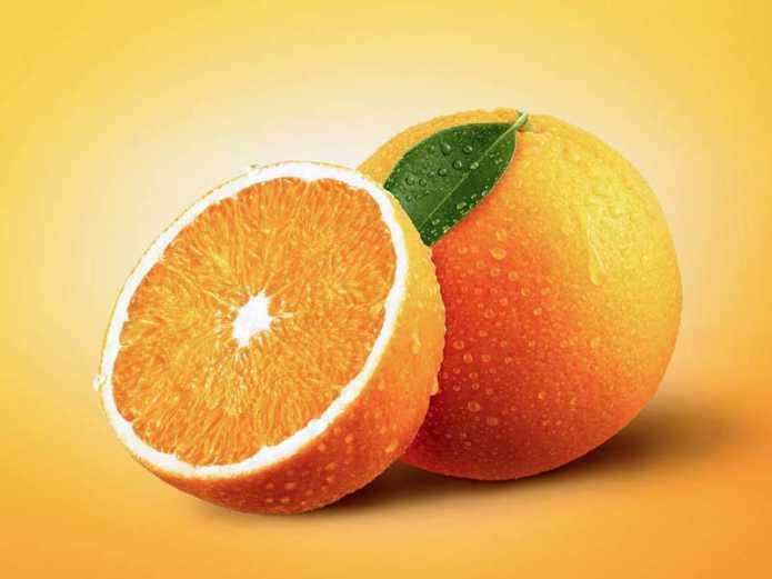 Витамины в апельсинах