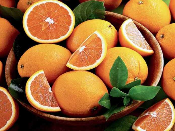 Апельсины: минералы